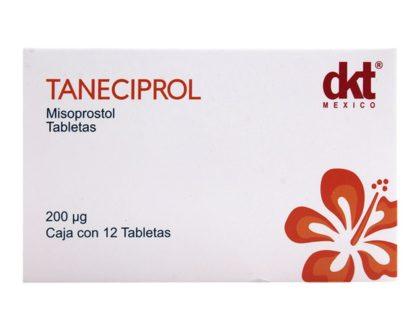 Caja de Taneciprol - Misoprostol genérico